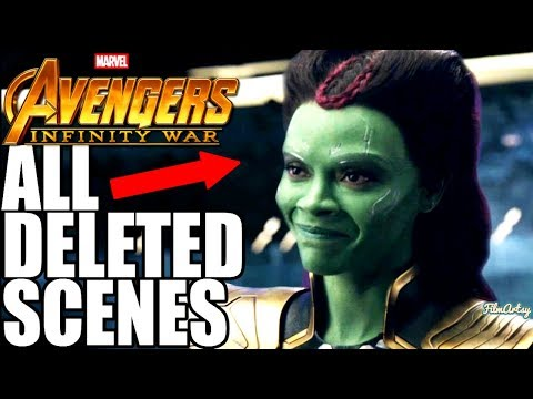 Avengers: Infinity War Deleted Scenes - Don't Miss!!!