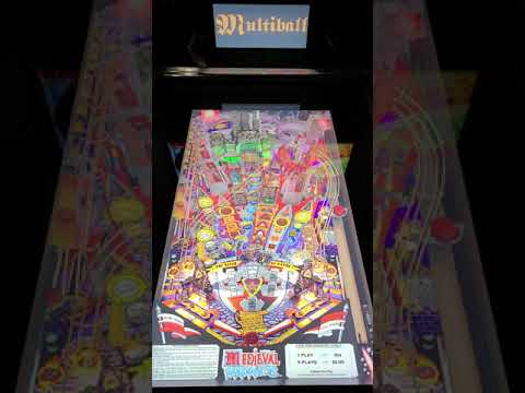 Arcade1up Pinball Medieval Madness from Kevin F