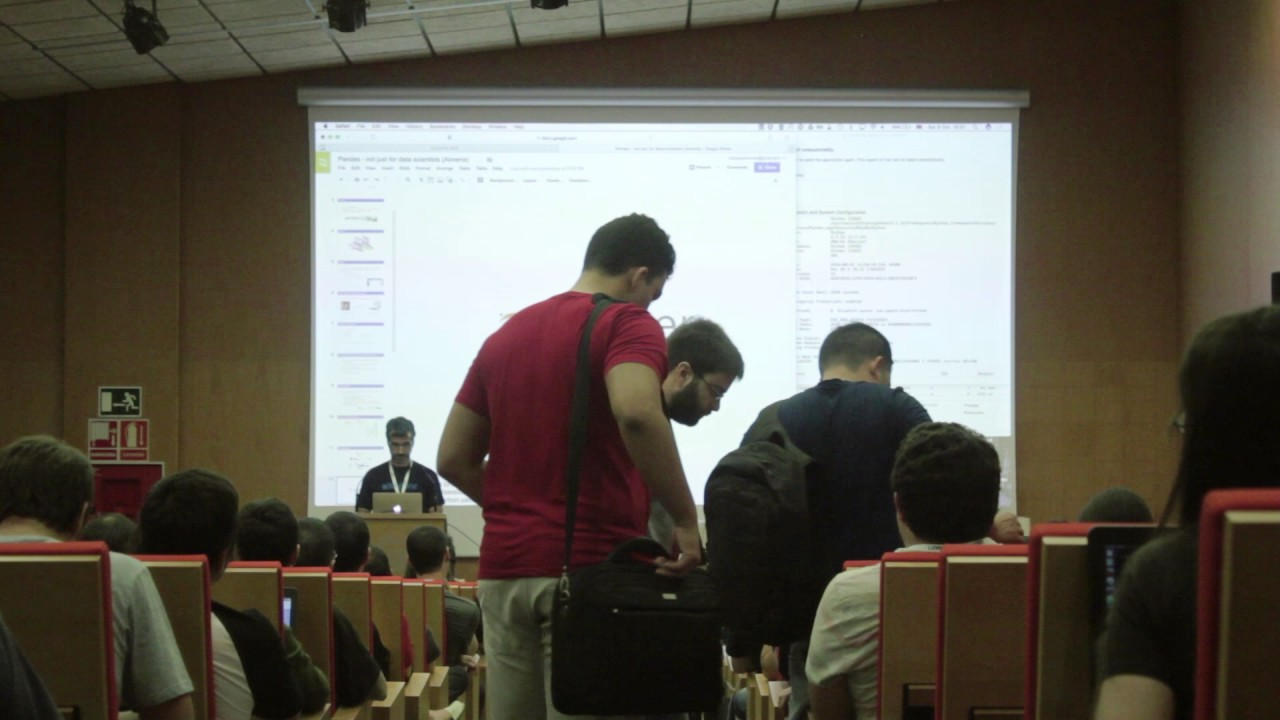 Image from Pandas - not just for data scientists - PyConES 2016