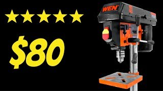 DRILL PRESS - Testing The Cheapest Drill On AMAZON
