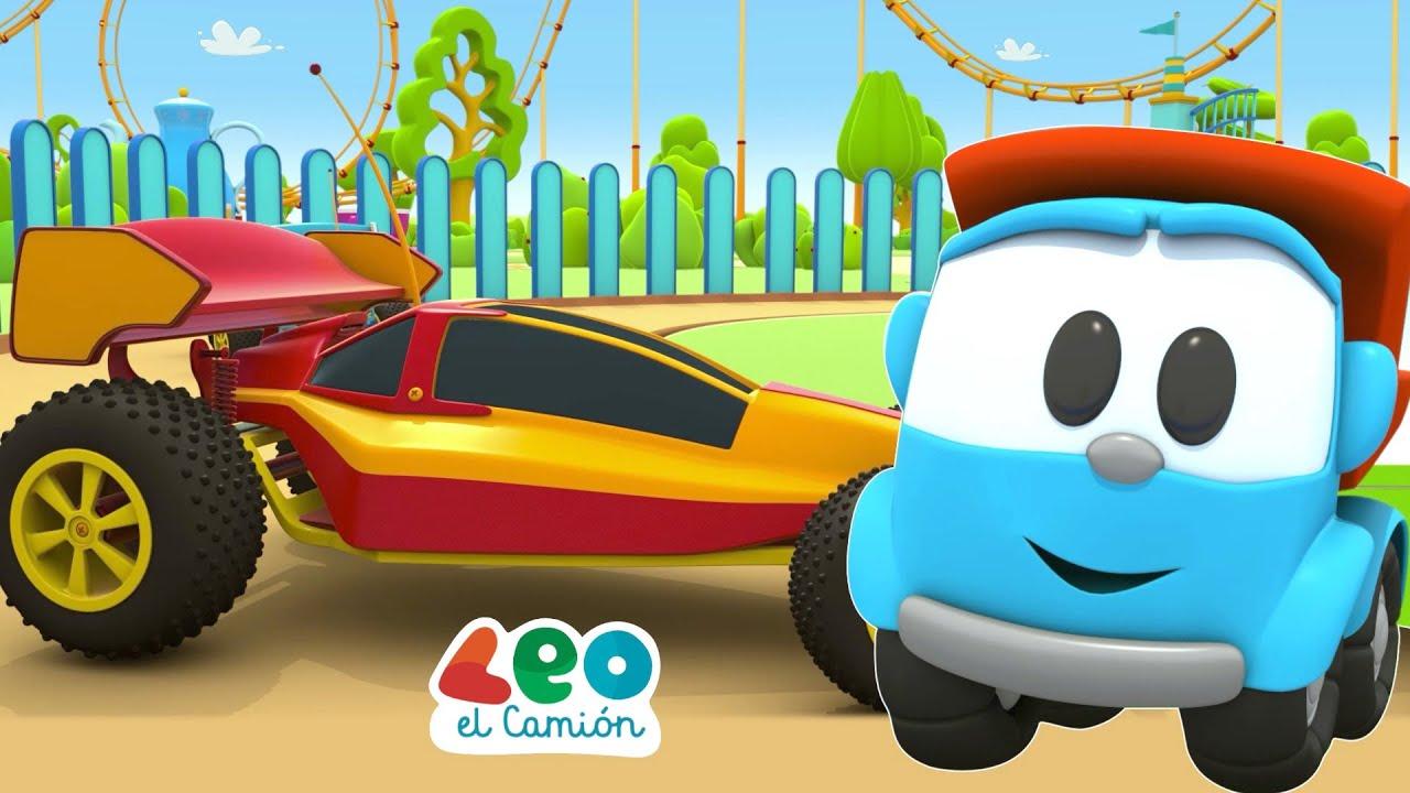 Leo el Camión - Leo y el Coche de Carreras -  Leo y los Coches de Radio Control