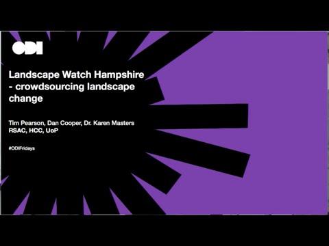 Friday lunchtime lecture: Landscape Watch Hampshire – crowdsourcing landscape change