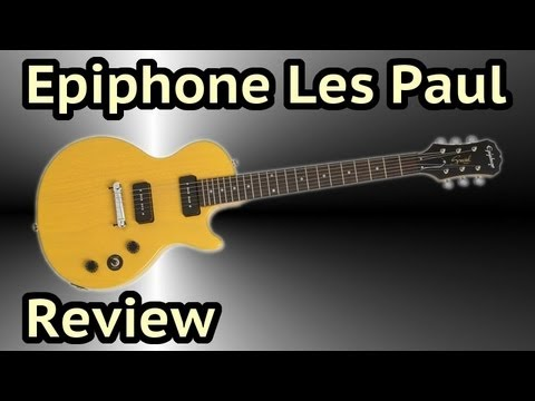epiphone les paul special i p90 review youtube. Black Bedroom Furniture Sets. Home Design Ideas