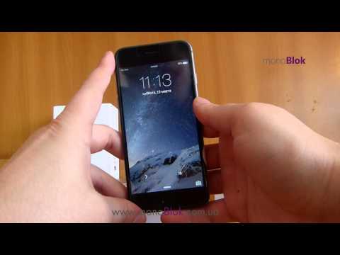 Точная копия iPhone 6. Китайский айфон 6 от компании GooPhone