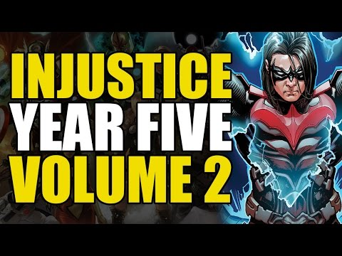 How Damian Wayne Became Nightwing (Injustice Gods Among Us: Year Five Volume 2)