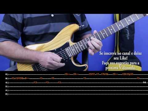 Deus me ama Thalles Roberto By Luiz CarlosVideoaula do solo na guitarra