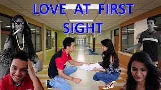 Bollywood Vs Reality || LOVE AT FIRST SIGHT