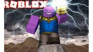 The Attack Of Thanos | A Roblox Game [TRAILER] (link in desc)