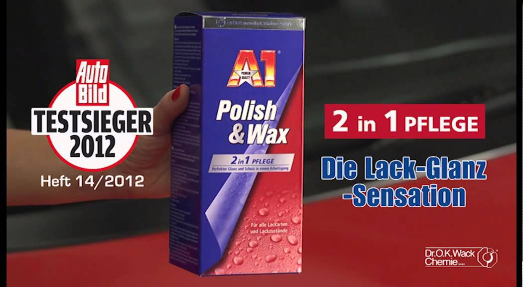 a1 polish wax 2014 anwendungsvideo youtube. Black Bedroom Furniture Sets. Home Design Ideas