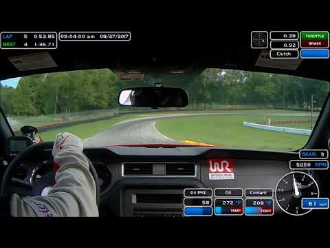 Mid-Ohio August 2017 - NASA TT3 Club Course Track Record