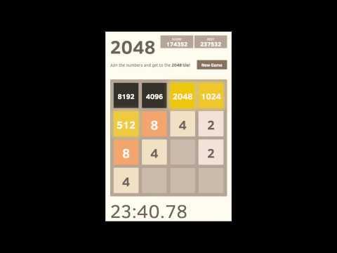 2048 Game - 16,384 Tile