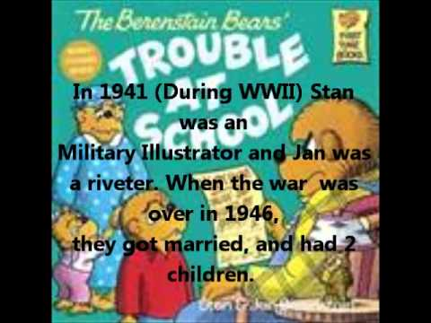 Stan and Jan Berenstain Biography
