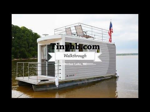 A Tiny Houseboat Walk Through