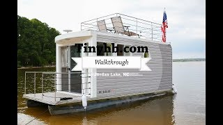 A Tiny Houseboat Walk Through