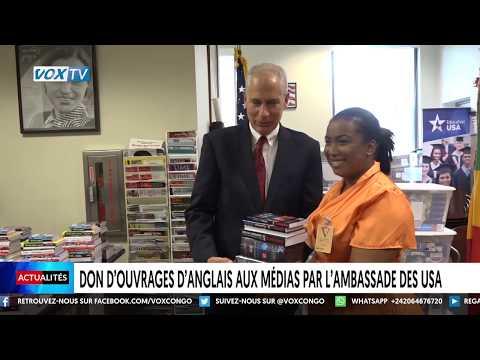 Don D'ouvrage D'anglais Aux Médias Par L'ambassade Des USA