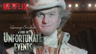 A Series of Unfortunate Events Season 2 | Count Olaf in Disguise | Netflix