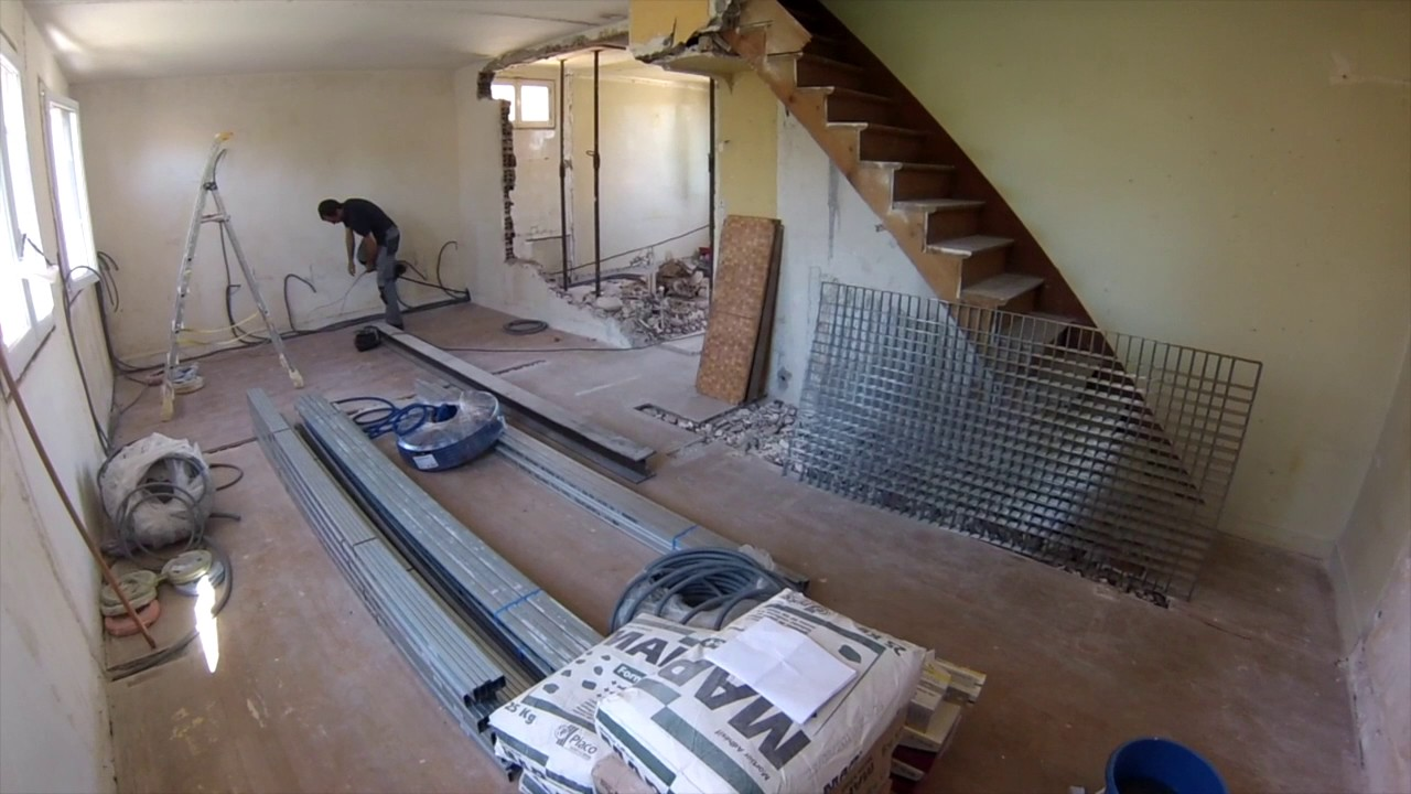 Renovation D Interieur Paris rénovation maison partie 1, travaux tous corps d'état, architecte  d'intérieur paris.