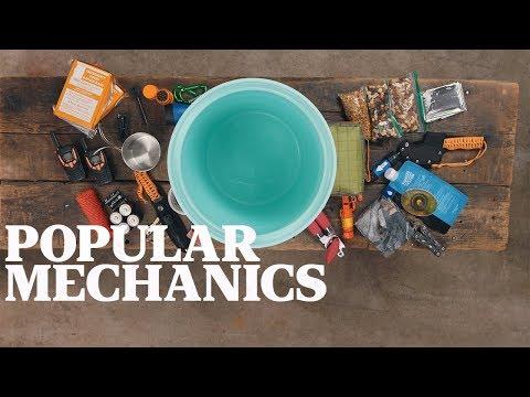 The Bucket List: Bug Out Bucket | Popular Mechanics + YETI LoadOut Bucket