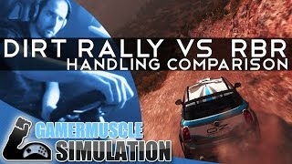 Dirt Rally VS Richard Burns Rally  - Which drives better ?