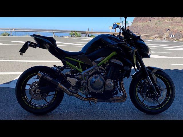 Kawasaki z900 Mivv gp Pro / Exhaust sound ... With NO DB KILLER!!!
