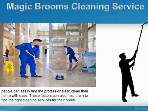 Magic Brooms Cleaning Service Offering Affordable House Cleaning