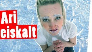 """Bestrafung: 1 Stunde Aushalten in der Kälte ohne Winter-Klamotten II """"Das schaffst du nie!"""""""