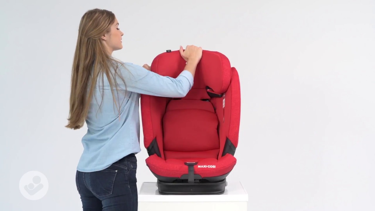 Maxi Cosi Titan Pro Car Seat How To Adjust The Seat From Group 1 To Group 2 3 Youtube