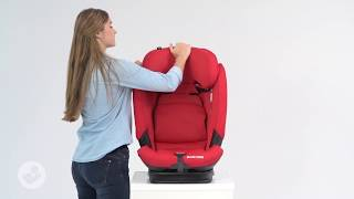Maxi-Cosi | Titan Pro Car seat | How to adjust the seat from group 1 to group 2/3