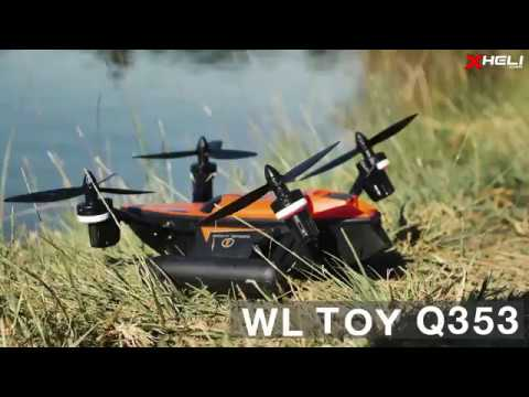 WL Toys Q353 Aeroamphibious Air Land Sea Quadcopter