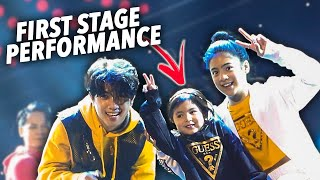 NATALIA'S FIRST STAGE PERFORMANCE WITH US!! (Vietnam Trip) | Ranz and Niana