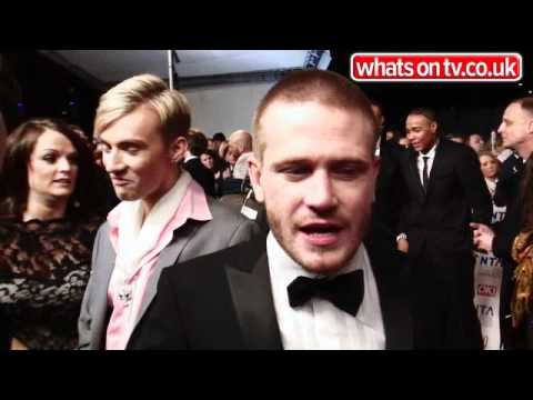 National TV Awards 2012 - Matthew Wolfenden: Chico's hot on my heels