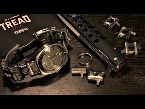 Обзор Часов Leatherman Tread Tempo. Часы-Мультитул Для Настоящего Мужчины!