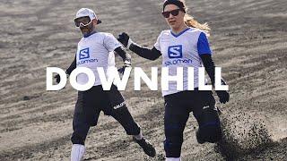 DOWNHILL: Crushing the Running World Record on Etna's Volcano | Salomon TV