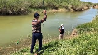 Кызыл-Орда.Рыбалка на реке Сары-су