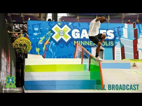 Men's Skateboard Street Elimination: FULL BROADCAST | X Games Minneapolis 2019