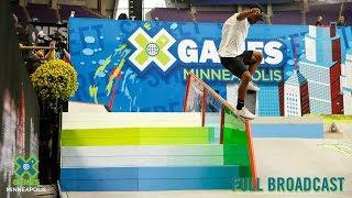 REPLAY: Men's Skateboard Street Elimination   X Games Minneapolis 2019