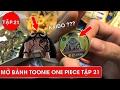 Mở bánh Toonie One Piece được họ hàng tứ hoàng Kaido - Review Toonies One Piece Tập 21
