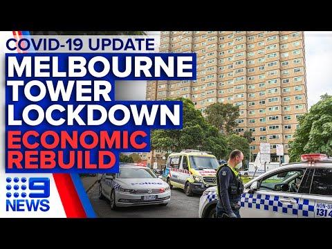 Coronavirus: Latest On Melbourne Towers 'hard Lockdown'   9 News Australia