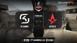ELEAGUE Major 2017 - SK Gaming vs. Astralis (Dust 2) - Narração PT-BR