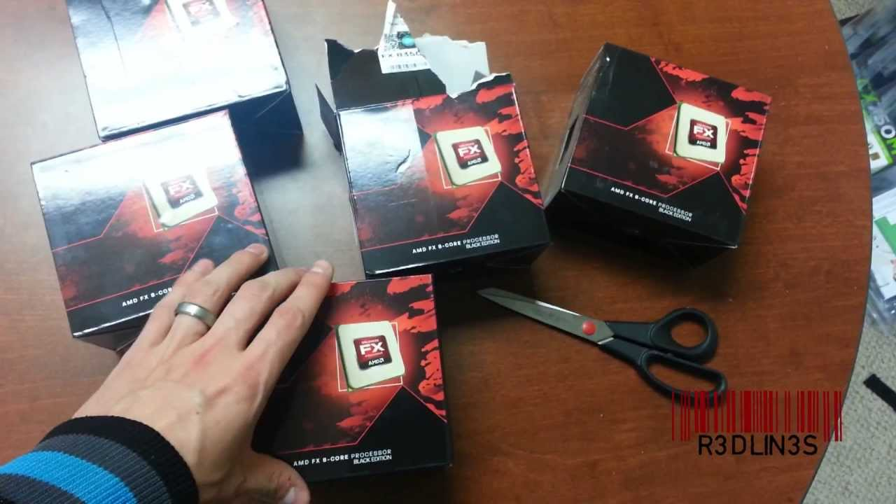 Unboxing FX 8350 AMD Bulldozer 8 Core 4 0ghz CPU Processor