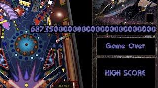 3D Pinball High Score 6,873,500 (Full Tilt! Pinball Space Cadet)