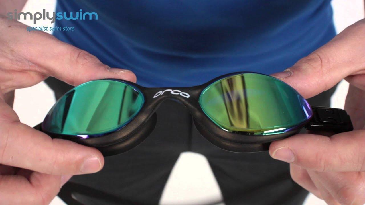 Orca Killa 180 Goggle - www.simplyswim.com - YouTube ad175c2a1b7
