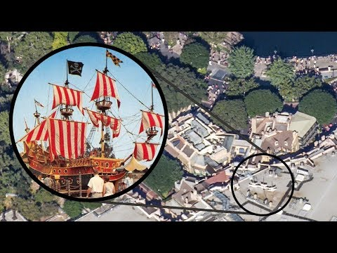 Disneyland's Secret Pirate Ship Hidden In New Orleans Square - DIStory Minnie Ep. 4