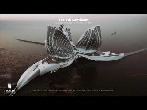 The 8th Continent - Ocean Cleaning and Research Facility by Lenka Petráková