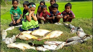 Fish & Bori Curry Recipe | Dress Gifted To All Kids | Fish Curry Cooking With Winter Vegetables