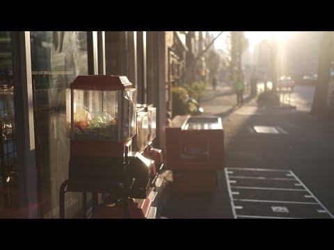 winter sunset in Tokyo | X-H1 in ETERNA Film Simulation