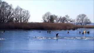 ЗИМНЯЯ РЫБАЛОЧКА(Февраль. Зимняя рыбалка на Каховском водохранилище..., 2015-02-13T19:54:02.000Z)
