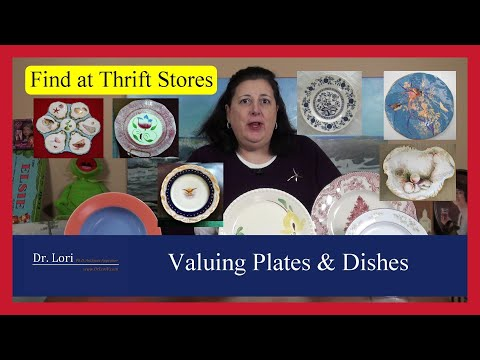 How To Value, Sell & Find Antique Dishes, Plates & China By Dr. Lori