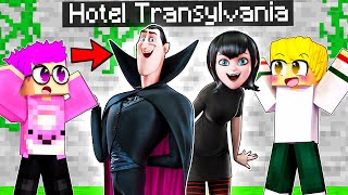 Can LANKYBOX Survive HOTEL TRANSYLVANIA In MINECRAFT?! (Insane Minecraft MOVIE!)