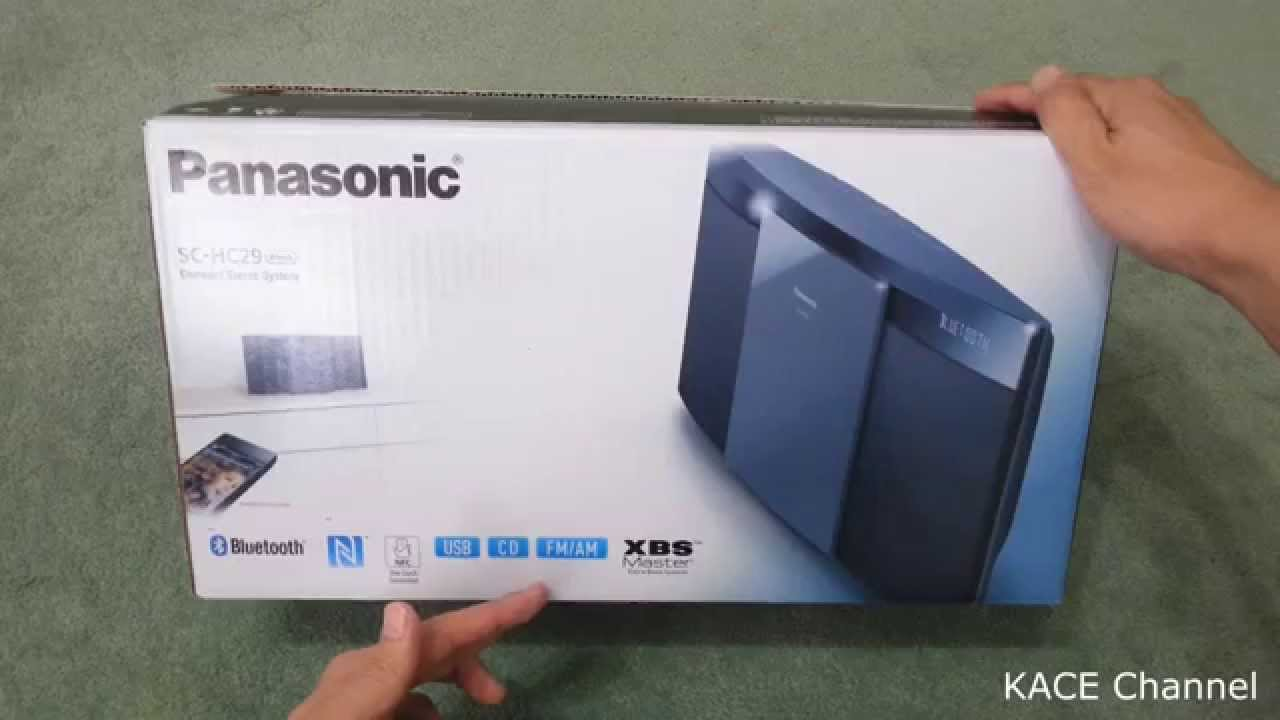 Panasonic SC-HC29 unboxing - YouTube 27e05e3cb6